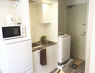 マンスリーマンションは家具・家電設備が充実