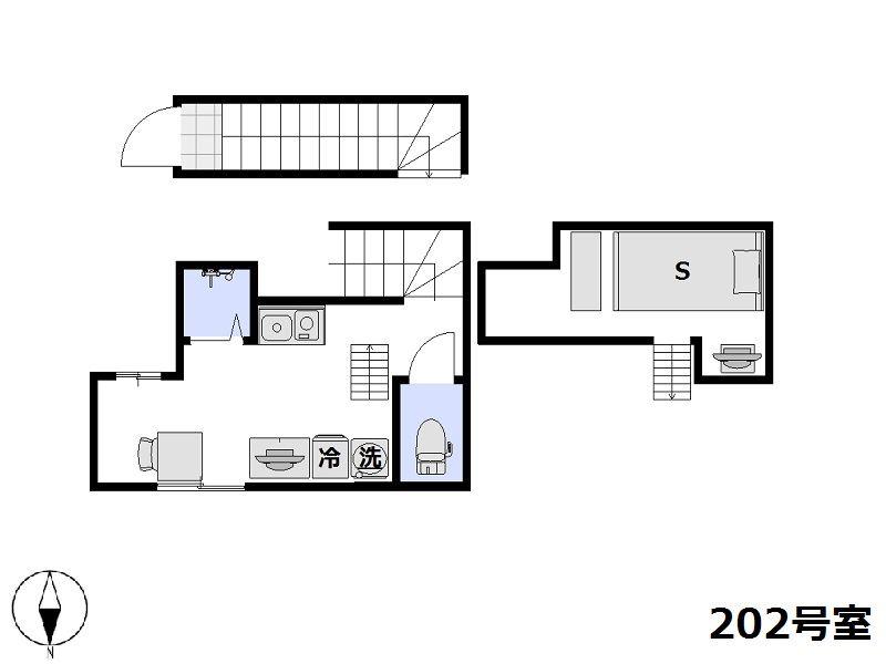 リーズナブルステイ池上・蒲田 202号室