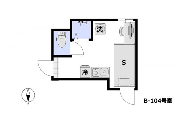 リーズナブルステイ板橋・志村 B-104号室